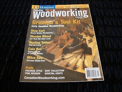 Canadian Woodworking Magazine June July 2004 Vol 7 No
