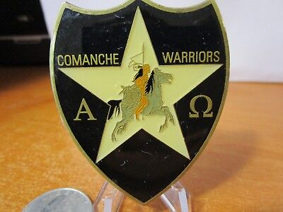 Second Infantry Division Warrior Replacement CO Comanche Warriors Challenge Coin