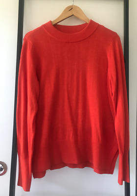 Bright Red jumper   size 10