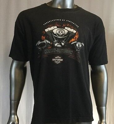 HARLEY DAVIDSON, Kuwait, progressions of perfection, Size XL, T shirt