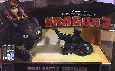 How To Train Your Dragon 2 Toothless Comic Con 2014