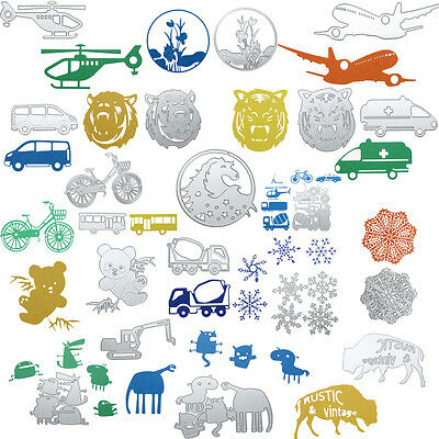 Metal Cutting Dies Stencil Scrapbooking Photo Paper Cards Crafts Embossing DIY