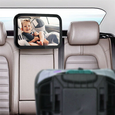Baby Car Mirror Rear Facing  View Infant/Toddler In Back Seat Proof Safety