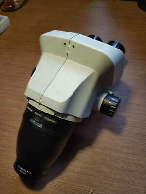 Olympus SZ61 stereo Microscope body+original WD200 objective lens used condition