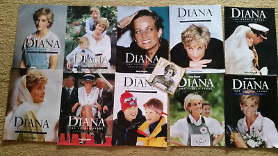 Princess Diana Magazines and DVD Collectors Items. Free Postage