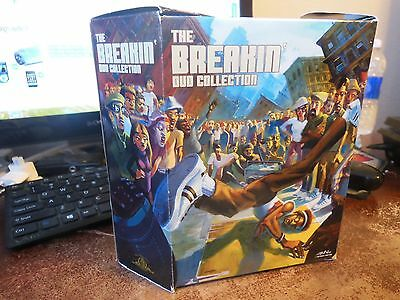 The Breakin' DVD Collection Justin Bua Artwork Out Of Print. OOP GENUINE!!!!