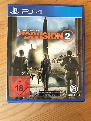 Tom Clancys The Division 2 PS4 Spiel Playstation 4 || FSK 18