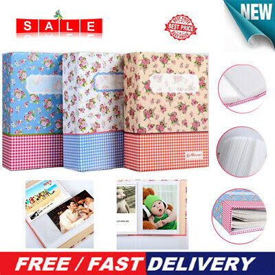 "4R 6"" 100-Pocket Picture Album Case Photo Storage Baby Wedding Family Memory"