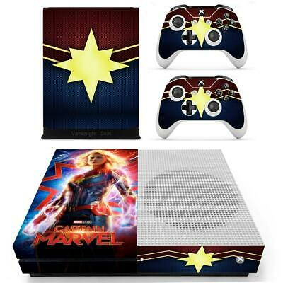 Video Game Accessories Bumblebee Transformers Vinyl Skins Decals Stickers Xbox One S Slim Consoles Wrap Video Games & Consoles