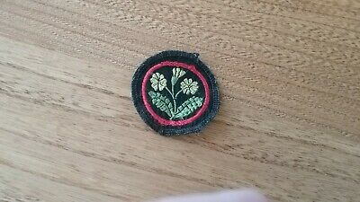 girl guides patrol patch 1970 s primrose