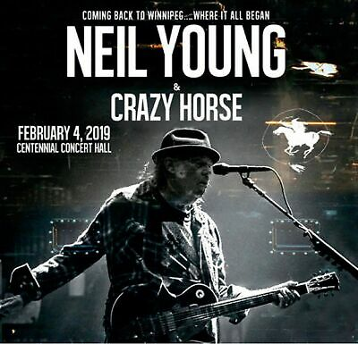 Neil Young with Crazy Horse Where It All Began 2-CD Canada 2019