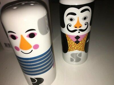 Dalí & Picasso salt and pepper pots OMM Design
