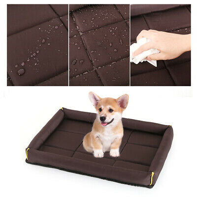 Large Dog Bed Mat Soft Warm Cat Cozy Cushion Washable Pad for Pet Sleeping PS300