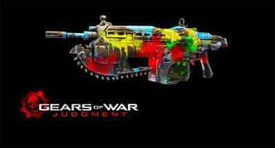 Gears of War: Judgment DLC: Paintball weapon skin Xbox 360 One