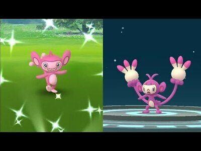 Pokemon Go Shiny Aipom Catching service Guaranteed capture read description
