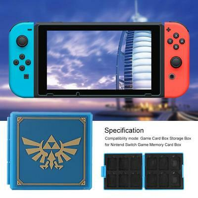 Game Card Case Storage Box Game Memory Card Holder Box for Nintend Switch NS