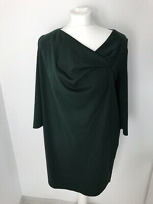e4fca8cc3dc7a LADIES COS A-LINE Dress Bottle Green Size XS - $32.53 | PicClick