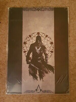 Rare Assassins Creed Unity Exclusive Limited Numbered Stained Glass Lithograph