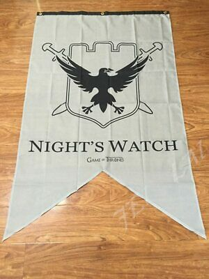 Game of Thrones - Night's Watch Family Banner Flag 3X5