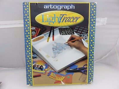 """Artograph Light Tracer 10"""" x 12"""" Tracing Box Model 225-365 Art Drawing Quilting"""