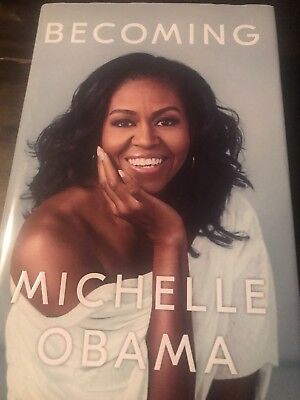 Becoming by Michelle Obama Hardcover Book Free Shipping!