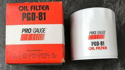 Pro Gauge #Pgo-81 Oil Filter // Replaces #Pf-20 #Ph43 #51068