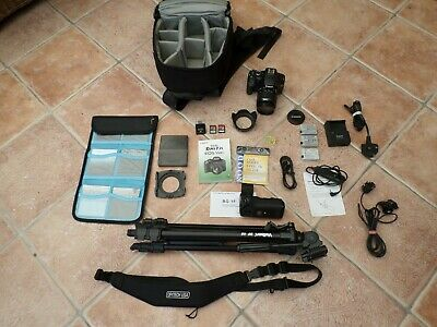 Canon EOS 550D 18.0MP Digital SLR Camera with EF-S IS 18-55mm Lens + **EXTRAS**