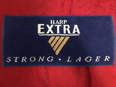 Vintage Extra Harp Strong Lager Bar Towel Runner Mat