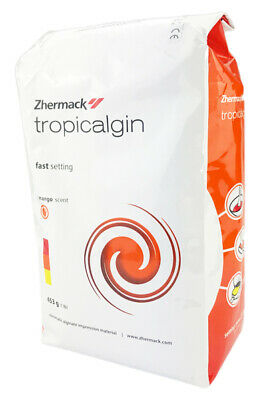 TROPICALGIN - 453g 1LB Alginato Alginate Impression ZHERMACK Dust FREE Dental