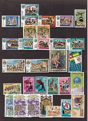 Togo used stamps selection