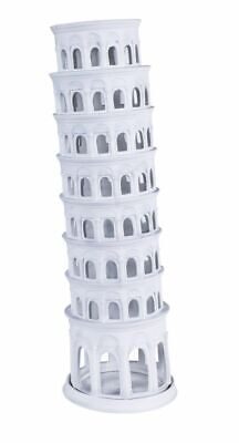 G589: Der Slanted Tower from Pisa, Model from Biscuit China, Tea Light Light