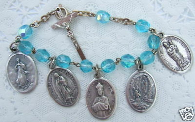 LOT OF 37 Religious Jewelry Medals, Charms, Our Lady, Crucifix
