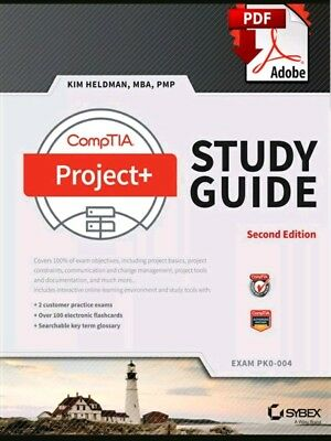 CompTIA Project+ Study Guide, 2nd Edition, exam PK0-004 - (Read Description)