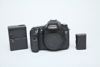 Canon EOS 7D 18MP DSLR Camera (Body Only) in Very Good Condition 9k Shutter