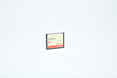 SanDisk 8GB Extreme Compact Flash CF Card 60MB/s in VGC