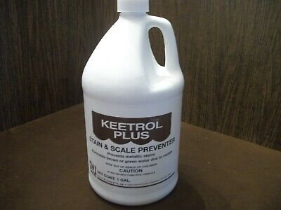 Keetrol Plus STAIN & SCALE PREVENTER POOLS AND SPAS 1 GALLON