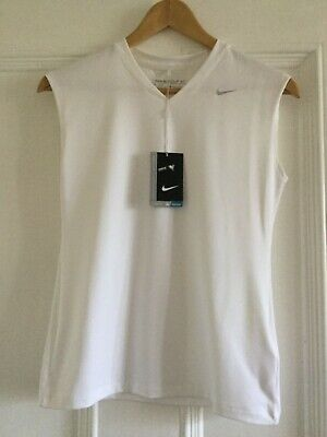 Girls NIKE Golf Tennis Vest Size Large12-13 years 831321-100