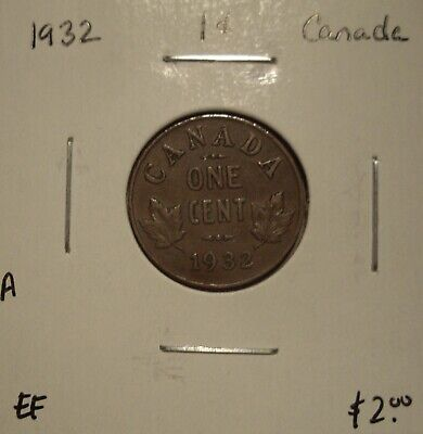A Canada George V 1932 Small Cent - EF