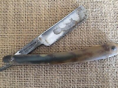 Old Antique George Wostenholm & Son Razor