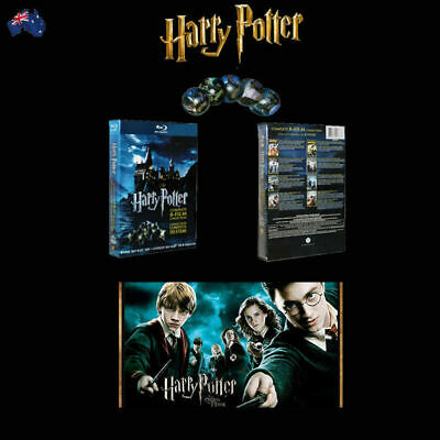Harry Potter Complete 1-8 Movie DVD Collection Films Box Set Xmas Gift