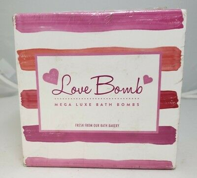Bath Bombs Gift Set Luxury Fizzies Lush Size 6 Ounce Natural Balls US Made Love