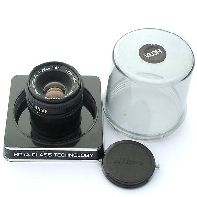 Hoya Super EL 75mm f4.5, excellent + condition (14233)