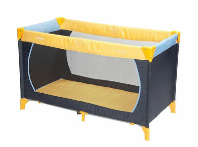 Hauck Dream'n'Play Travel Cot 120x60cm (Yellow/Blue/Navy) -