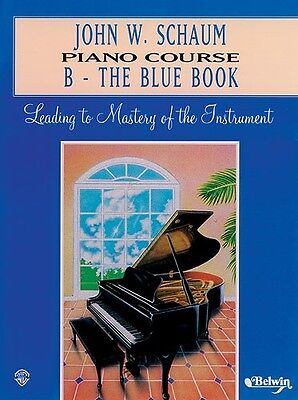John W. Schaum Piano Course B - The Blue Book