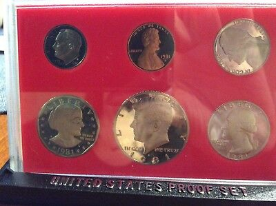 1981 us coin proof set