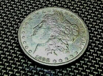 "1888 ""P"" Morgan Silver Dollar   #901"