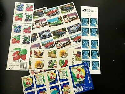 Mint NH U S Discount Postage Self-adhesive Sheets Lot With Face Value of $39.20