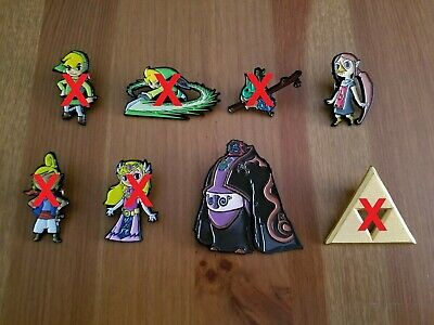 You Pick - Legend of Zelda Wind Waker Collector Pins - Nintendo