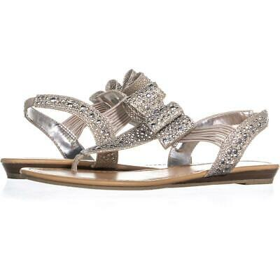 78ad5e74f MG35 SHAYLEEN RHINESTONE Bow T-Strap Sandals 567