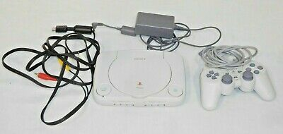 Original Sony Playstation PSone SCPH-101 Console, Controller, AV/Power Cords
